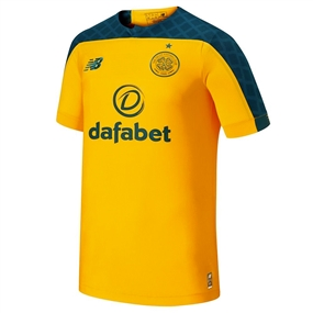 New Balance Celtic FC Away Jersey '19-'20 (Yellow/Green)