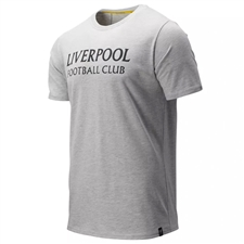 New Balance Liverpool Travel Graphic T-Shirt (Grey)