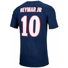 Nike PSG NEYMAR 10 Home T-Shirt (Midnight Navy/White)