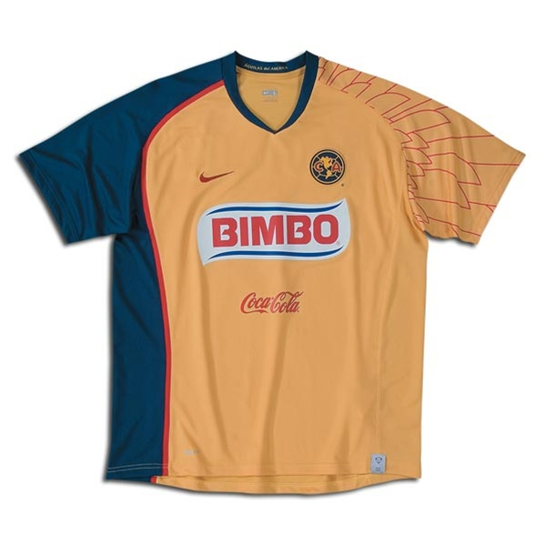 save off d2ab5 f4de8 Nike Club America Home Replica '07-'08 Jersey (Dijon)