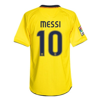 1addd8065  64.99 - Nike FC Barcelona Away MESSI 10 Replica  08- 09 Jersey ...