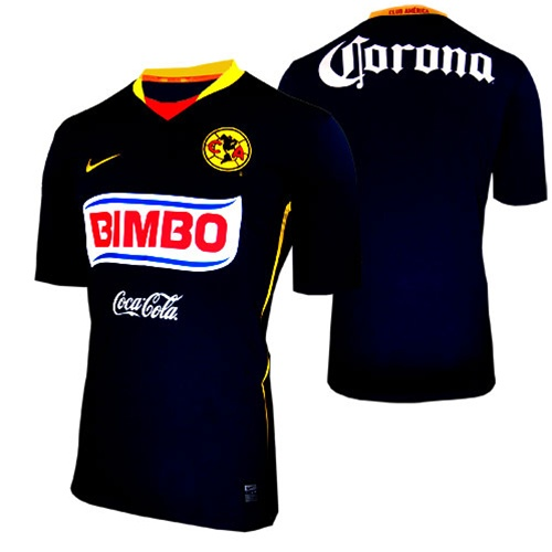 the best attitude 98534 bd698 Nike Club America Away Replica '08-'09 Jersey (Obsidian)