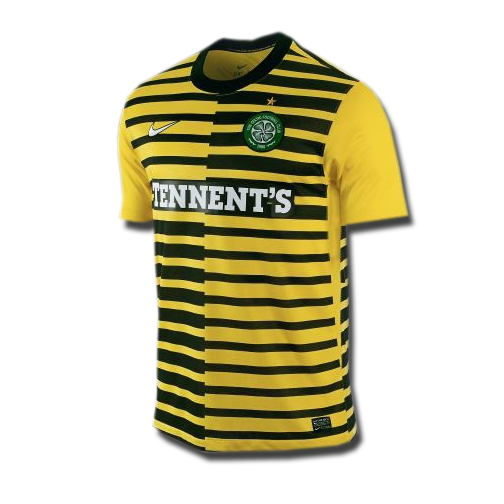 huge selection of ec9ed 78f55 Nike Celtic Third 2011-2012 Replica Soccer Jersey (Tour Yellow/Black)