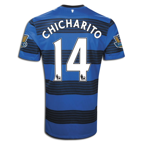 f2d31928b  96.98 - Nike Manchester United CHICHARITO Away  2011-2012 Replica ...