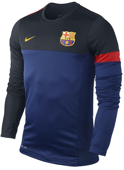 Nike FC Barcelona Soccer Training Top  12- 13 Soccer Training Top (Deep 26820e0ee2ad7