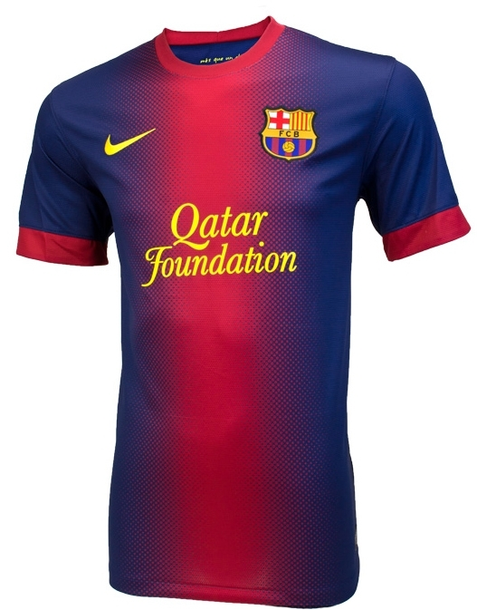 af130d19d Nike FC Barcelona  MESSI  2012-2013 Home Soccer Jersey (Midnight Navy Storm  Red Tour Yellow)