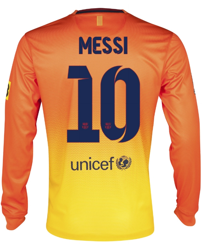 db12d611c10 Replica Jersey | Nike Barcelona 'MESSI 10' 2012-2013 Long Sleeve ...