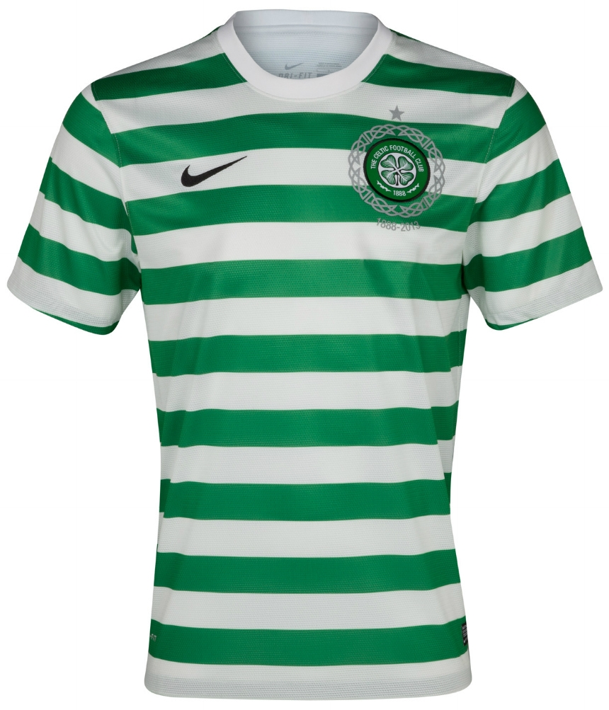 quality design 02ff7 03806 Nike Celtic FC Youth Home 2012-2013 Replica Soccer Jersey (Victory  Green/White)