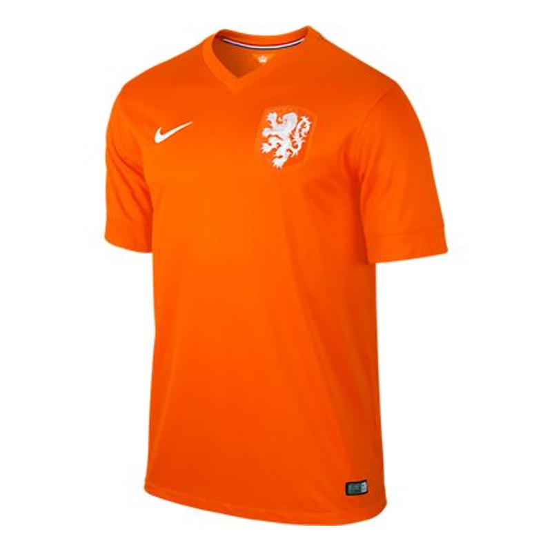 SALE  74.95 - Nike Holland Dutch 2014 Home Replica Soccer Jersey ... 887a8c550