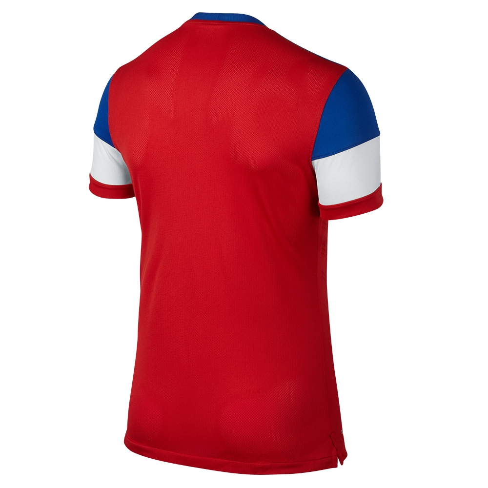 89eef27533d  149.99 - Nike USA 2014 Authentic Away Soccer Jersey (University Red ...