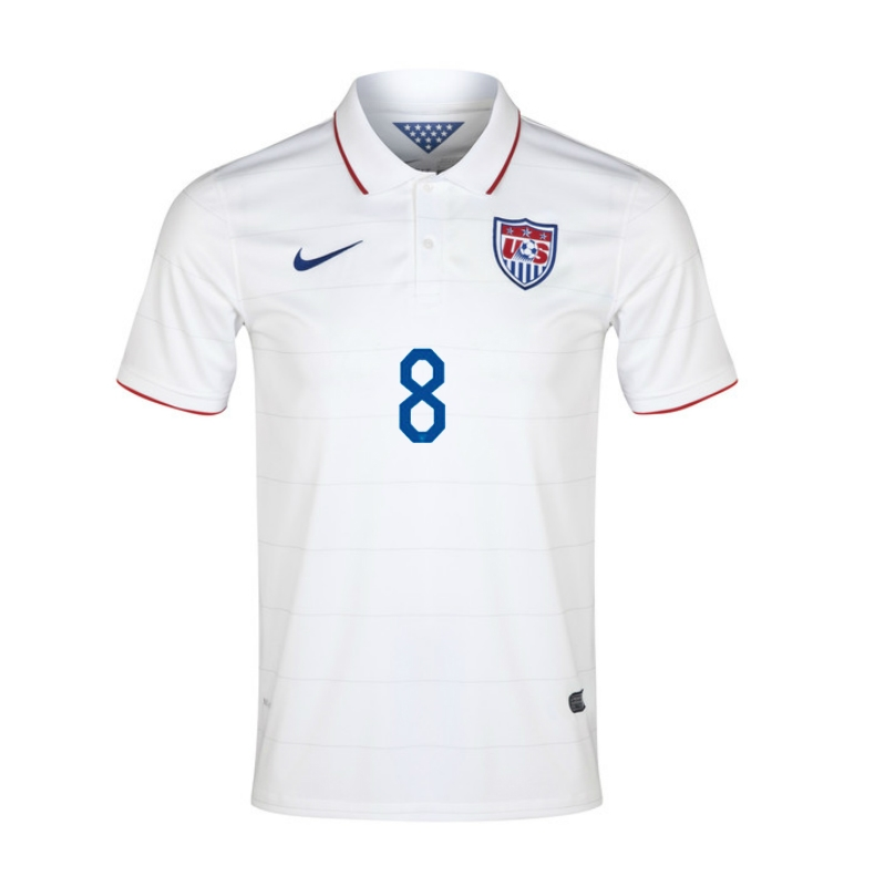 7a64c164c57 SALE  57.45 - Nike USA 2014  DEMPSEY 8  Home Replica Soccer Jersey ...
