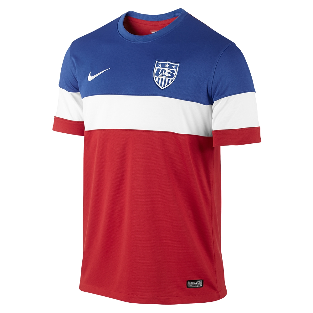 3ec566d9b  89.99 - Nike USA 2014 Away Replica Soccer Jersey (University Red ...