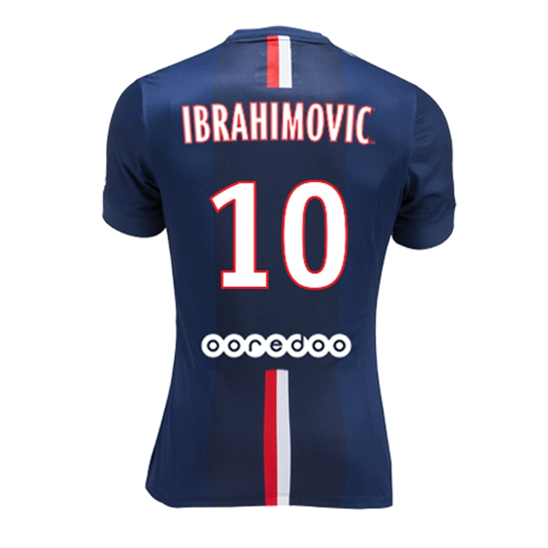 a23488ca333 Nike Paris St. Germain  IBRAHIMOVIC 10  Home  14- 15 Soccer Jersey ...