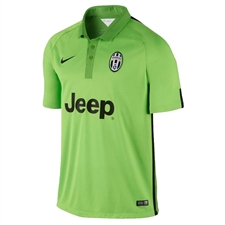 Nike Juventus '14-'15 Third Soccer Jersey (Action Green/Green Apple/Black)