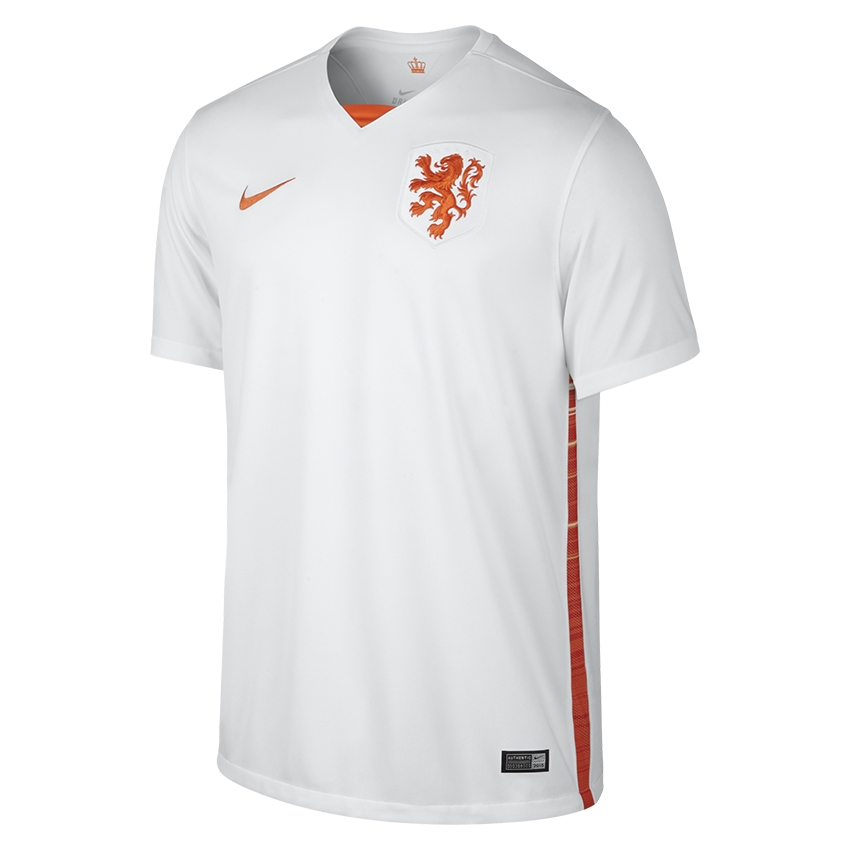 88326c1969c  89.99 Add to Cart for Price - Nike Holland Dutch 2015 Away Soccer Jersey  (White Safety Orange)