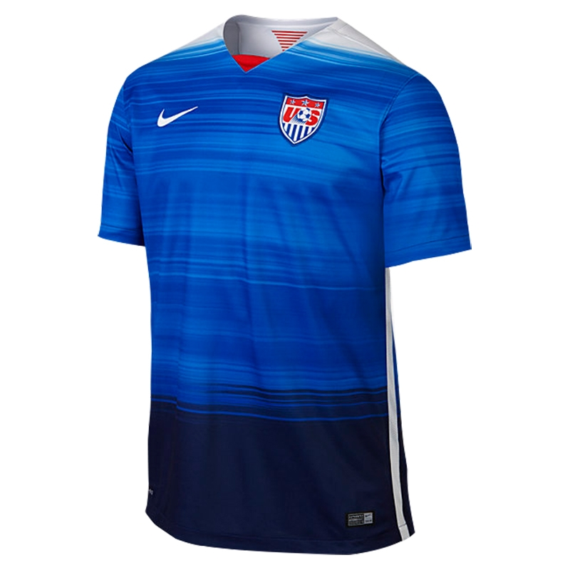 meet 845b2 a26b3 Nike USA 2015 Away Replica Soccer Jersey (Game Royal/Loyal Blue/White)