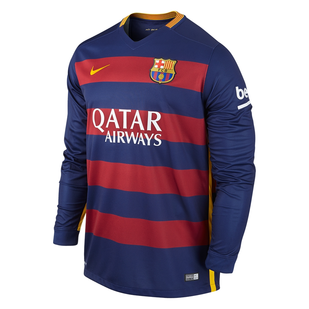 61db6566a  121.49 - Nike FC Barcelona  NEYMAR 11   15- 16 Long Sleeve Home ...