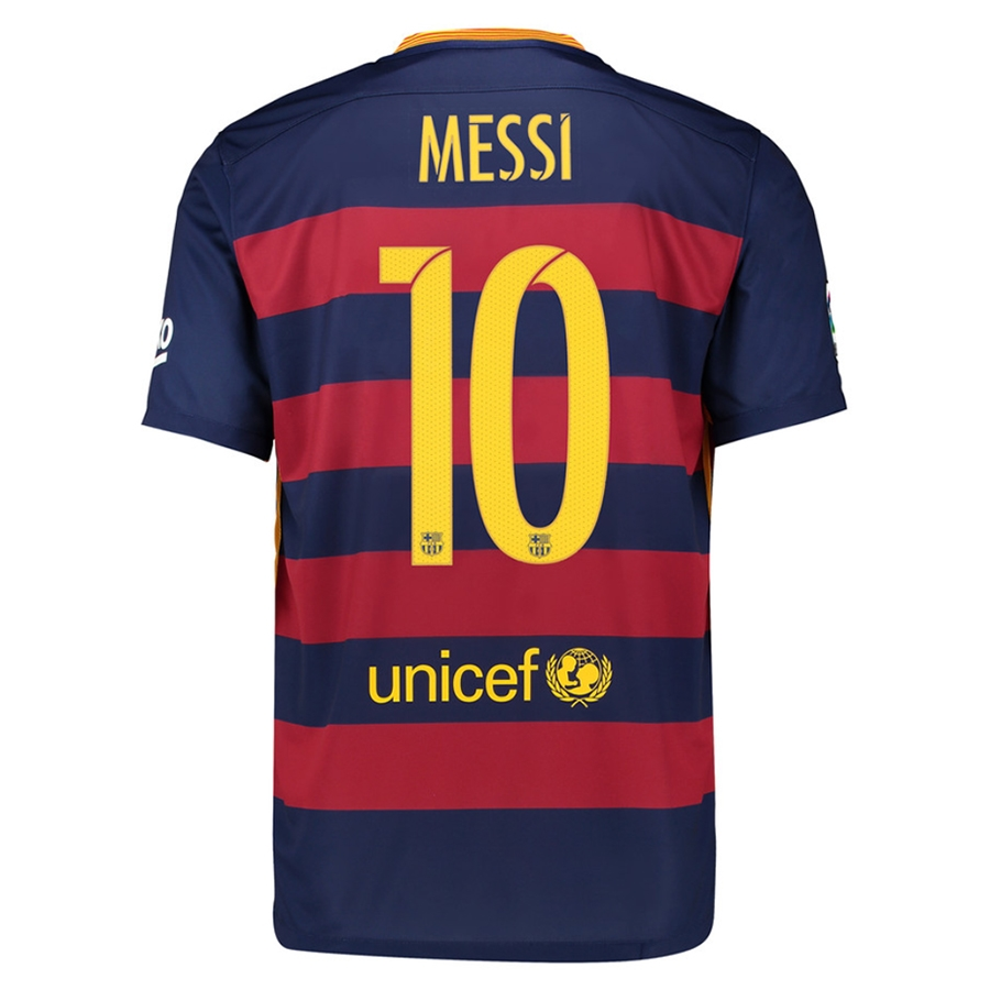 6985d687701  103.49 - Nike FC Barcelona  MESSI 10   15- 16 Home Soccer Jersey ...