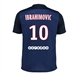 Nike Paris St. Germain 'IBRAHIMOVIC 10' Home '15-'16 Soccer Jersey (Midnight Navy/Dark Obsidion/Pimento/White)