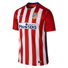Nike Atletico Madrid Home '15-'16 Soccer Jersey (Varisty Red/White/Drenched Blue)