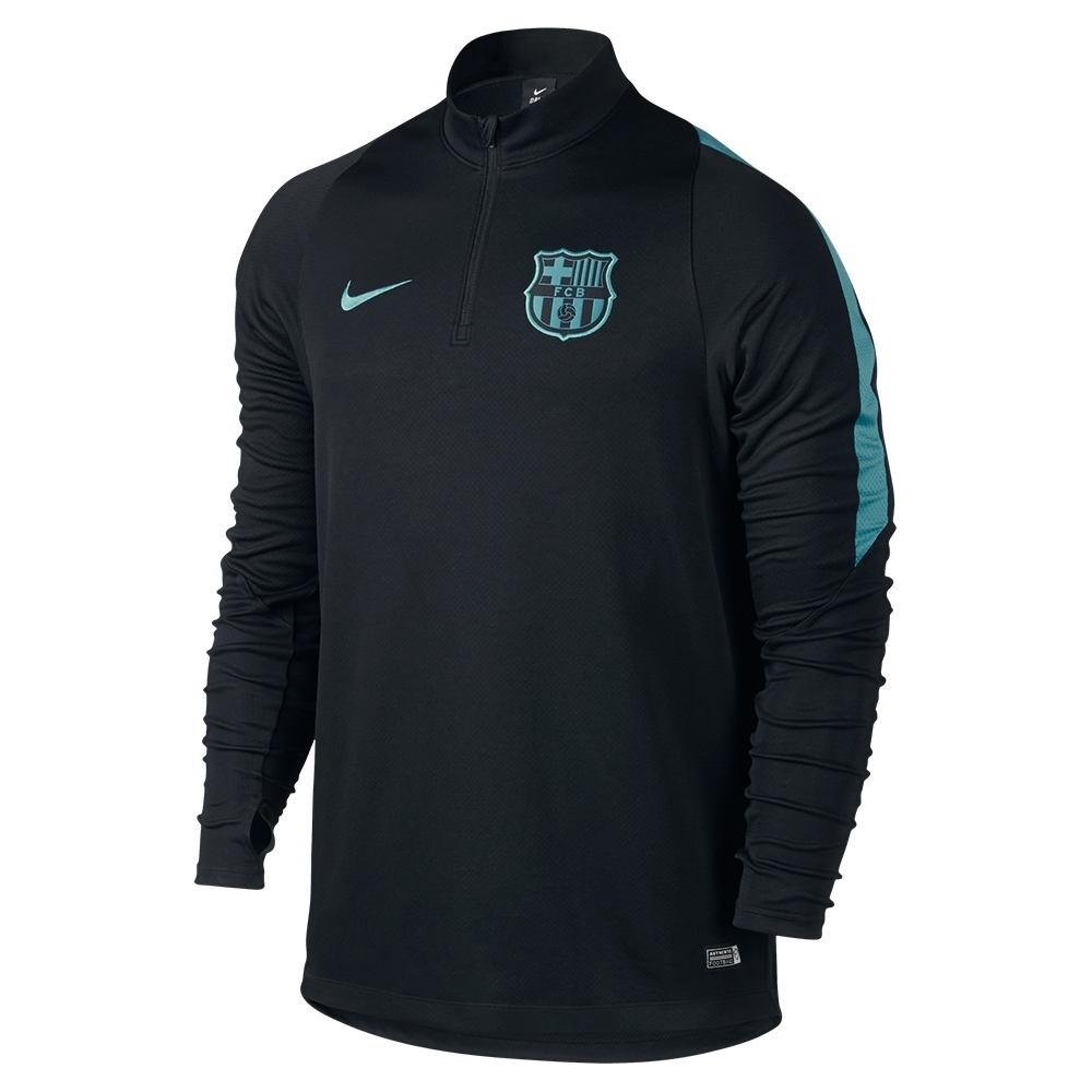a2d6b1bea16 $69.99 Add to Cart for Price - Nike FC Barcelona Ignite Midlayer LS Soccer  Shirt (Black/Light Current Blue) | Barcelona Soccer Jersey | 715673-013 ...