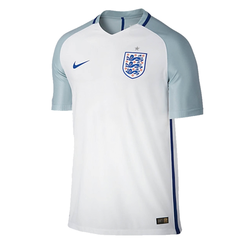 Nike England 2016 Vapor Match Home Soccer Jersey (White/Blue Grey/Sport  Royal
