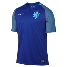 Nike Holland Dutch 2016 Stadium Away Soccer Jersey (Concord/Clearwater)