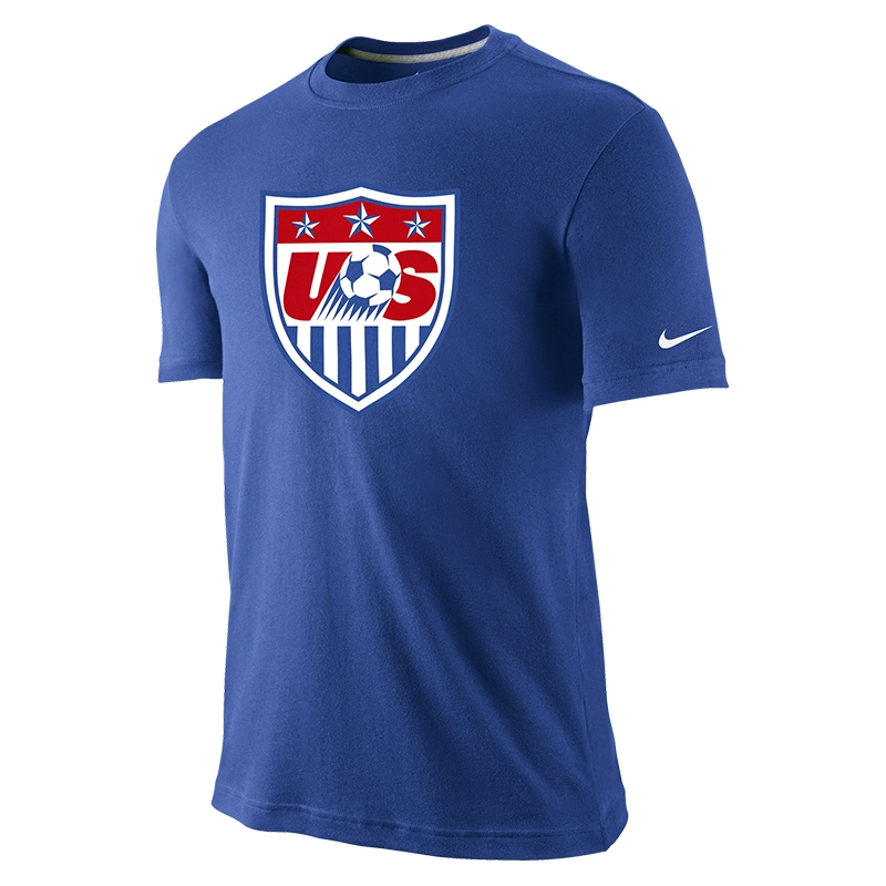 4b5a2f42aa0  34.99 Add to Cart for Price - Nike USA Core Crest Tee Shirt (Royal Blue)