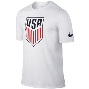 Nike USA Crest Tee Shirt (White)