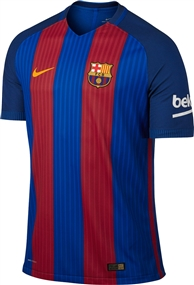 Nike FC Barcelona '16-'17 Home Soccer Jersey (Sport Royal/Gym Red/University Gold)