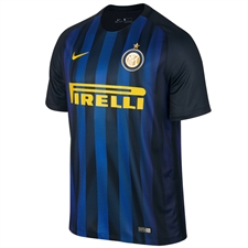 Nike Inter Milan Home '16-'17 Soccer Jersey (Black/Royal Blue/Opti Yellow)
