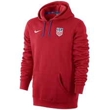 Nike USA Core Hoodie (University Red/Game Royal/White)
