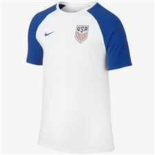 Nike USA Match T-shirt (White/Game Royal)