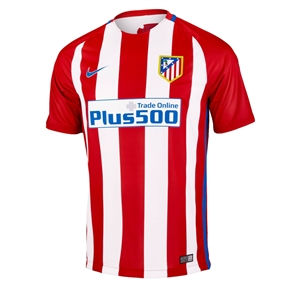 Nike Atletico Madrid Home '16-'17 Soccer Jersey (Varisty Red/White)