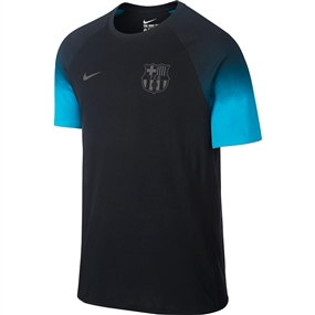 Nike FC Barcelona Match Tee Shirt (Black/Energy)