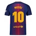 Nike FC Barcelona 'MESSI 10' Vapor Match Home '17-'18 Soccer Jersey (Deep Royal Blue/University Gold)