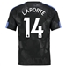 Nike Manchester City 'LAPORTE 14' Third '17-'18 Stadium Soccer Jersey (Outdoor Green/Field Blue)