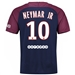 Nike Paris St. Germain 'NEYMAR 10' Home '17-'18 Adult Soccer Jersey (Midnight Navy/White)
