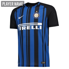 Nike Inter Milan Home '17-'18 Soccer Jersey (Black/Royal Blue/White)