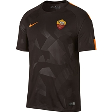 Nike A.S. Roma Third '17-'18 Replica Soccer Jersey (Velvet Brown/Vivid Orange)