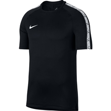 Nike Breathe Squad Top (Black/White)
