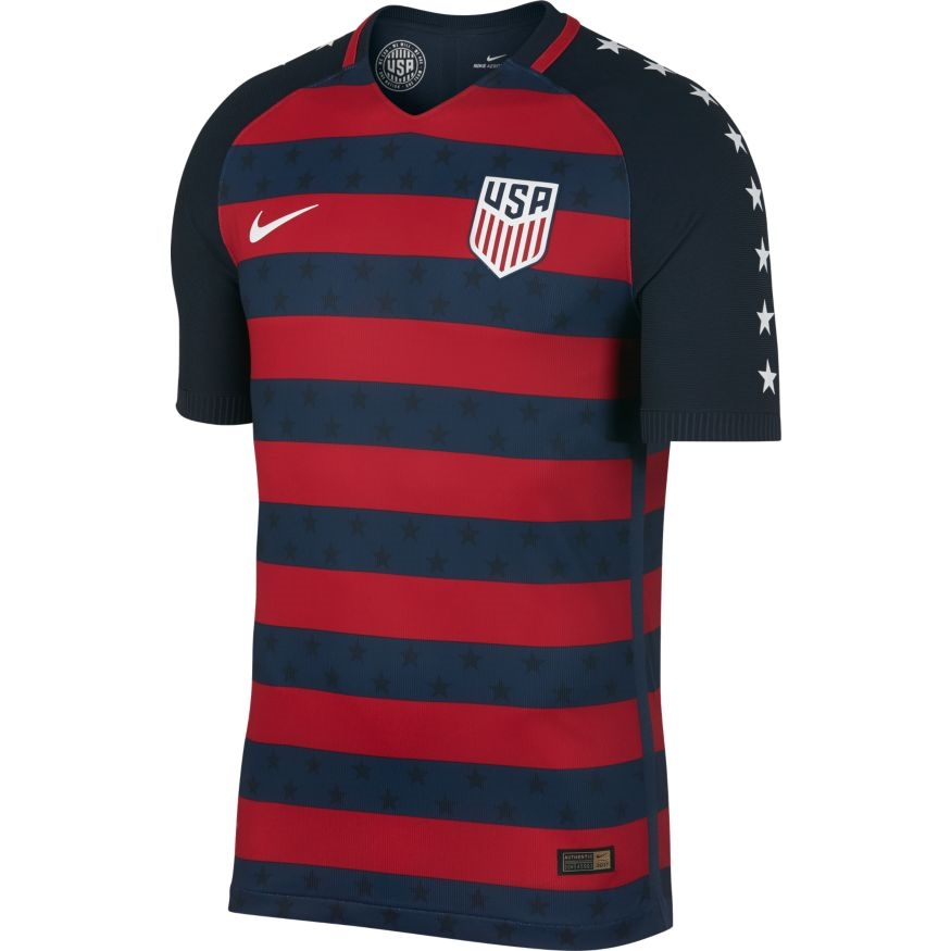 b072cea00e0 Nike USA Vapor Match Gold Cup 2017 Soccer Jersey (Midnight Navy ...