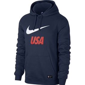 Nike USA Crest Hoodie (Midnight Navy/White)