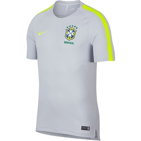 Nike Men's 2018 FIFA World Cup Brazil Training Top (Pure Platinum/Volt)