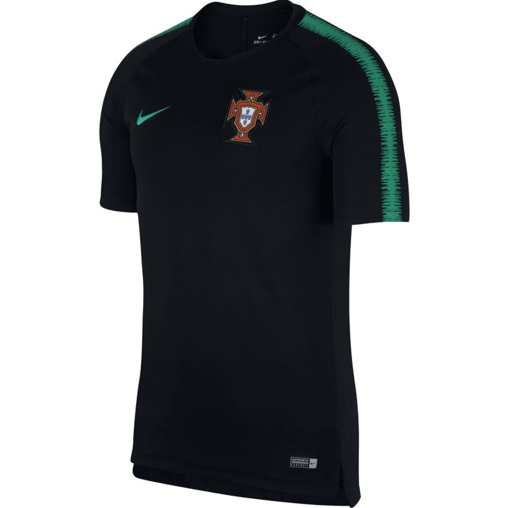 Nike Men s 2018 FIFA World Cup Portugal Training Top (Black Kinetic ... 6d018d0a2