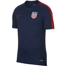 Nike USA Squad Top (Midnight Navy/University Red)