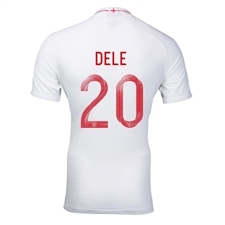 Nike England 'DELE 20' Home Stadium Jersey '18-'19 (White/Sport Royal)