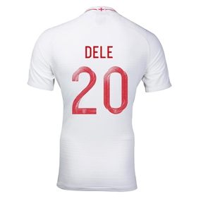 Nike England 'DELE 20' Home Vapor Match Jersey '18-'19 (White/Sport Royal)