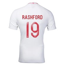 Nike England 'RASHFORD 19' Home Vapor Match Jersey '18-'19 (White/Sport Royal)