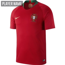 Nike Portugal Home Stadium Jersey '18-'19 (Gym Red)